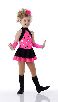 Pink Flourescent Jazz Dress Costume Dance SHAKE UP THE PARTY Child & - Grown Up Baby Costumes