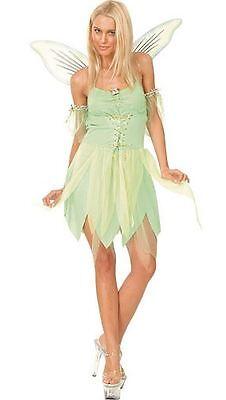 Grün Fairy Kostüm mit Flügeln, Tinkerbell, (Peter Pan) - Tinkerbell Peter Pan Kostüm