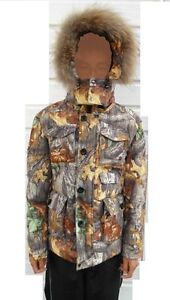 delux winter jacket, down-filled, autumn camo, size S West Island Greater Montréal image 2