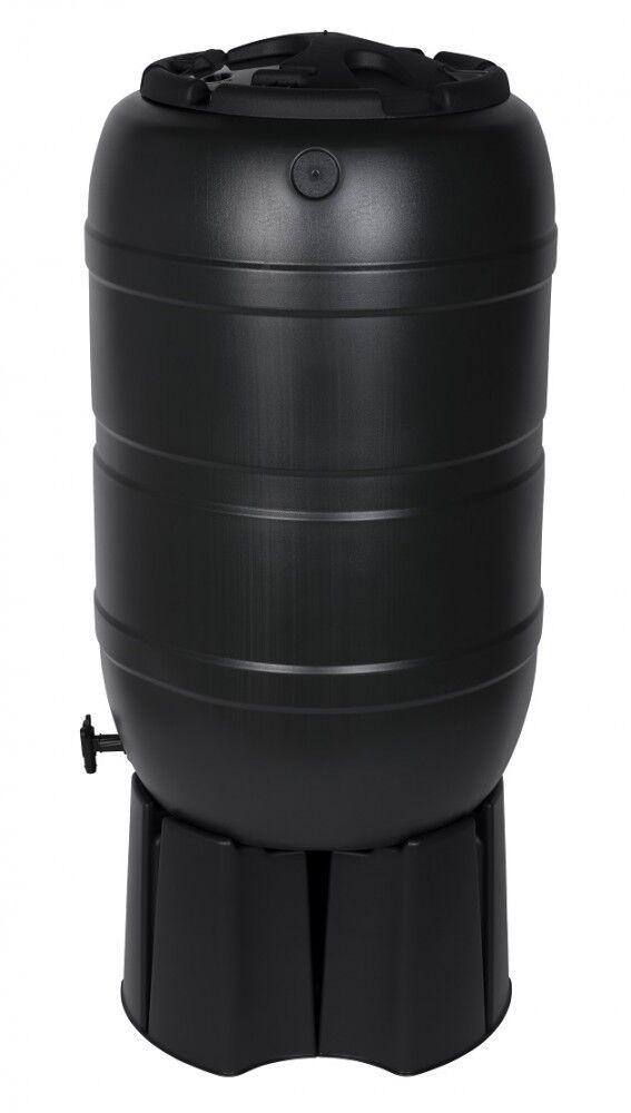 Regentonne Wassertonne Regenfass Wasserfass mit Stand Zubehör Füller 210 Liter