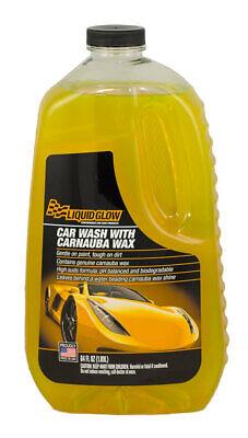 Car Wash with Carnauba 64oz Bottle LIQUID GLOW 10302