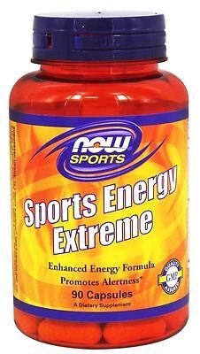 Now Foods Sports Energy Extreme   90 Capsules   Endurance Focus Stamina