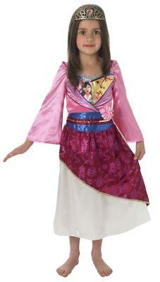 Rub - Disney Prinzessin Kinder Kostüm Mulan mit - Mulan Disney Kostüm