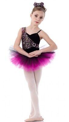 Magic Moments Dance Costume Multi Color Sequin Ballet Tap Tutu CXS CM CXL AS XXL - Color Tutus