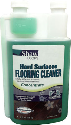 New Shaw R2Xtra Hard Surfaces Flooring Cleaner Concentrate 32 fl oz