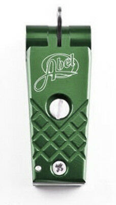 NEW ABEL FLY FISHING LINE NIPPER CUTTER DEEP GREEN IN STOCK FREE US SHIPPING