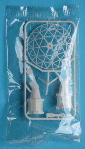 R&L 1970s Kellogg - SPACE AGE - SATELLITE DISH - plastic cereal toy MIB radar