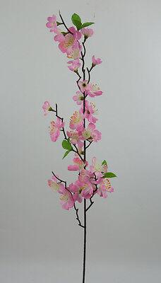 Kirschblütenzweig 80cm rosa-pink PF künstliche Kirschblüte Blumen Kunstblumen