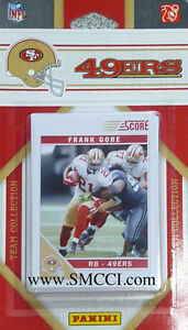 2011 Score San Francisco 49ers Factory Sealed Team Set Colin Kaepernick Rookie