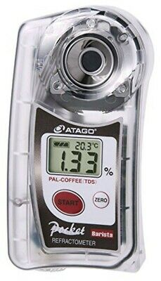 ATAGO Pocket Coffee Cafe Densitometer PAL-COFFEE TDS 22% New Free Shipping