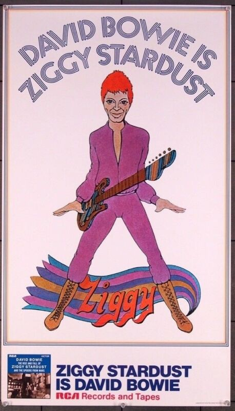 ZIGGY STARDUST AND THE SPIDERS FROM MARS  (1972) 27625