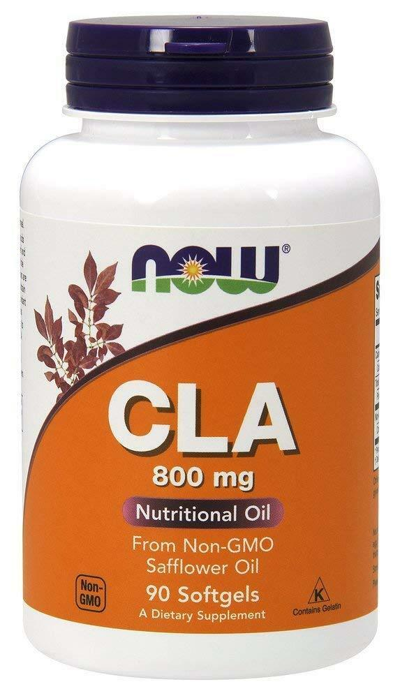 NOW FOODS, CLA, Fettsäure aus Distelöl, 800mg, 90 Softge. EXTRAPREIS !!!