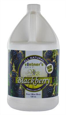 (Vintners Best Fruit Wine Base - Blackberry - for Home Wine Making)