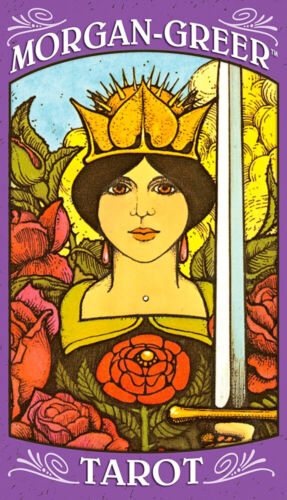 Morgan-Greer Tarot 78 Full Sized Cards/Deck + Guide-Booklet - NEW!