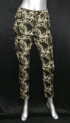 JONES NEW YORK NWT Bleecker Army Green Print Denim Skinny Ankle Jeans sz 8 $79