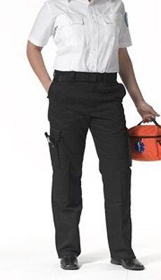 9 Pocket Emt Pant (EMT EMS Women's 9 pocket duty pants Black Sizes 2-22)