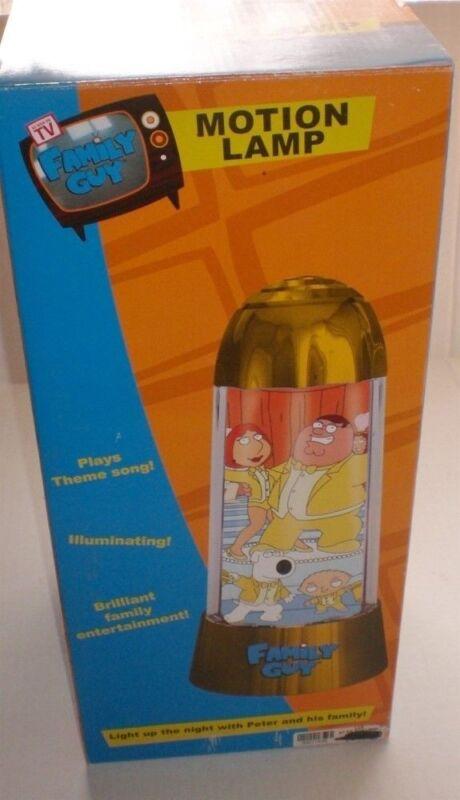 Family Guy  MOTION LAMP Musical Too!  NRFB