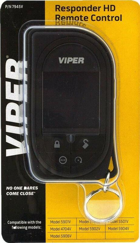 Viper Responder HD SSD Color Supercode Replacement Remote - 7945V