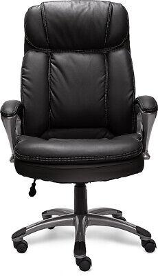 Serta 43675 Big Tall Executive Office Chair High Back Ergonomic Lumbar Support