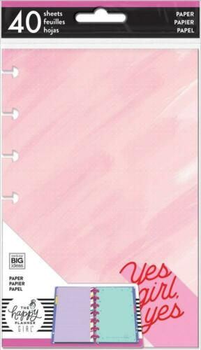 The Happy Planner MINI Note Paper - ENCOURAGER YES GIRL - 40 shts