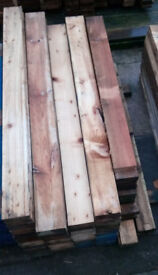 heavy duty thick pallet boards / beams 1 1/4 to 1 3/4 inches thick minimum length 1000mm