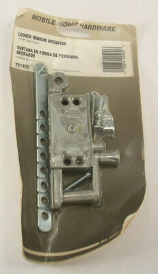Slide Co Mobile Home Hardware Louver Window Operator #221400 New Old Stock
