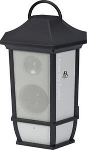 New - OUTDOOR BLUETOOTH WIRELESS WEATHERPROOF PATIO/GARDEN SPEAKERS - ENJOY MUSIC FROM ANDROID OR APPLE DEVICE!