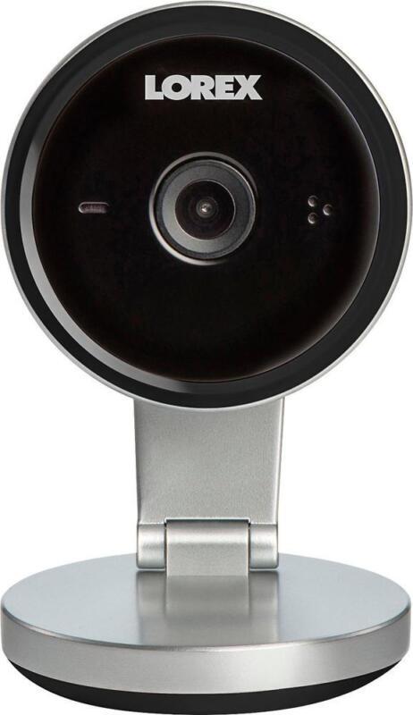 Lorex Indoor 4MP Wi-Fi Security Camera Silver/black FXC32BK