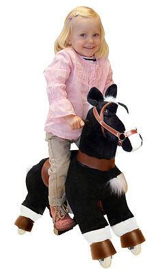 Galoppo® S - Reitpferd für Kinder in schwarz