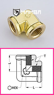 Brass Adapter Fitting Union Elbow 90 Degree 1/2 BSP Female (50 pcs)