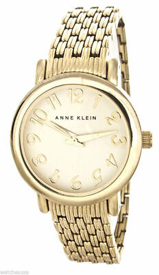 Anne Klein Champagne Dial Gold Tone Stainless Steel Womens Watch AK/1588CHGB SD9