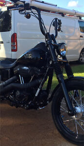 """Harley 16"""" bars and risers Wanneroo Wanneroo Area Preview"""