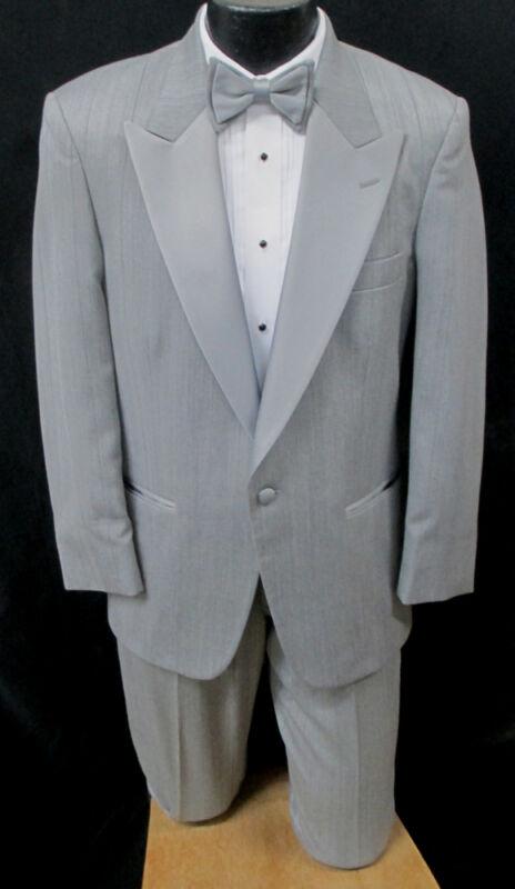 Light Grey After Six Parisian Tuxedo Jacket With Pants Wedding Prom Mason Cruise