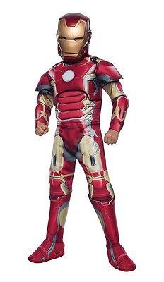 Avengers 2: Age of Ultron Deluxe Iron Man Child - Iron Man Costume Kids