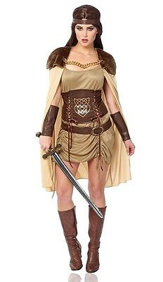 Celtic Warrior Goddess Adult Womens - Celtic Warrior Costume