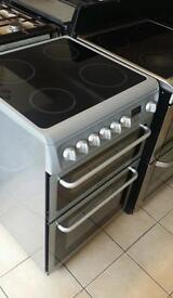 60cm hotpoint electric cooker silver only 160