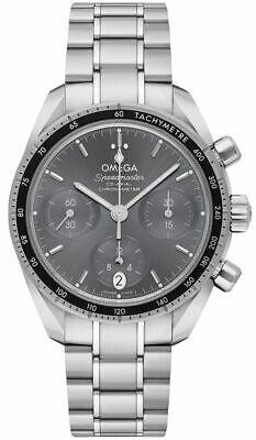 Omega Speedmaster 38 Chronograph Grey Dial Men's Watch 324.30.38.50.06.001
