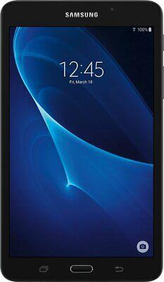 "Samsung Galaxy Tab A 7"" Black SM-T280 8GB Wi-Fi  Tablet A+"