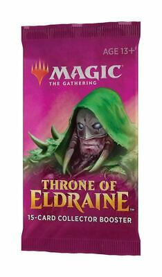 MTG - Throne of Eldraine - Collector's Booster Pack - Brand New & Sealed Cards