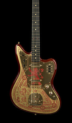 Fender Custom Shop Master Built Game of Thrones House Lannister Jaguar