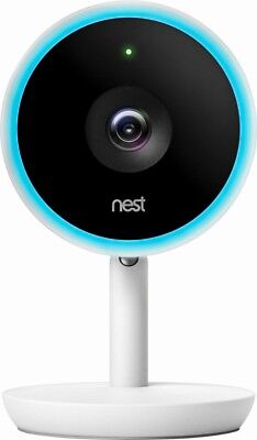 Nest Cam IQ Indoor Full HD Wi-Fi Home Security Camera - White-New