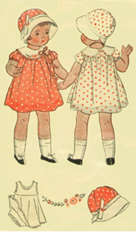 "22"" Pattern for Shirley Temple Doll  #1933"