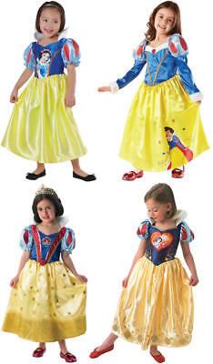 hneewitchen Prinzessin Kinder Karneval Kostüm 104-128 (Snow White Prinzessin Kostüm)