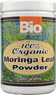 Bionutrition 100  Organic Moringa Leaf Powder 300 Grams