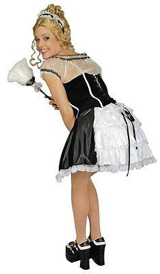 Kostüm Stubenmädchen Deluxe 40-42 Kleid Putzfrau Sexy Zimmermädchen - Putzfrau Kostüm