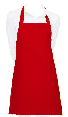 Cutest Ever Red Vinyl Waterproof Apron Durable Ultra Lightweight Dish Grooming