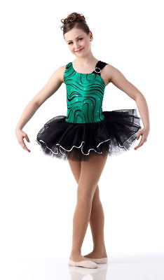 Neues Grün Metallisch Ballett Tutu Tanzkostüm für Erwachsene, Großes