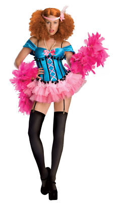 Burlesque Halloween Costumes For Women (Burlesque Girl Dancer Showgirl Drag Queen Halloween Womens Adult Costume)
