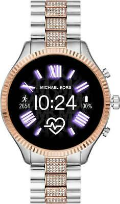 Michael Kors Access Lexington Rose Gold & Silver Smart Touchscreen Watch MKT5081