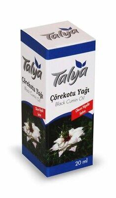 Schwarzkümmelöl Talya Black Cumin Oil cold press 20 ml x 7